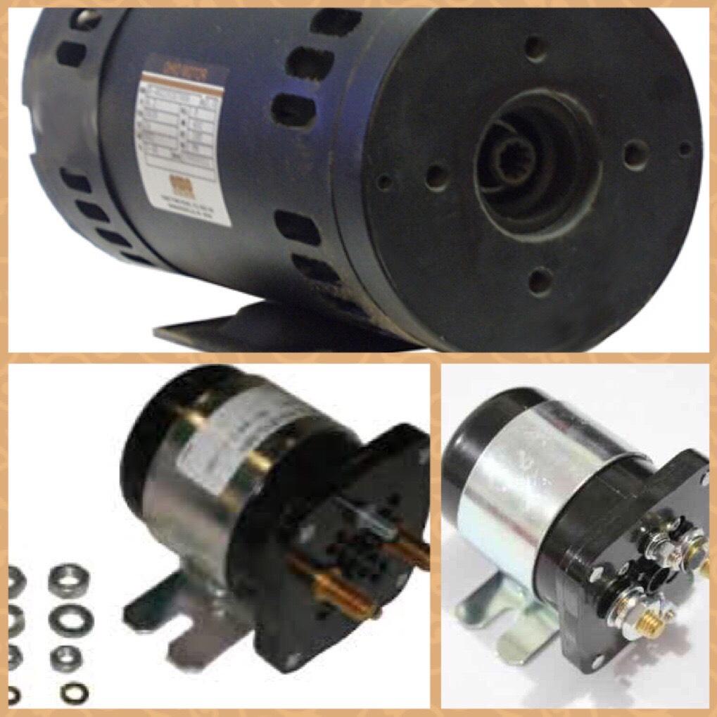 motor, than motor và relay tổng xe nâng người