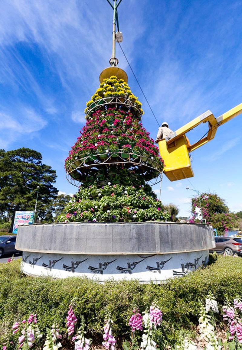 xe cẩu gắn gàu cho thuê tại Đà Lạt Lâm Đồng